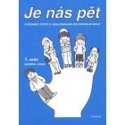 """Cvičebnice počtů s omalovánkami  """"Je nás pět"""" – 1. sešit (podzim, zima)"""